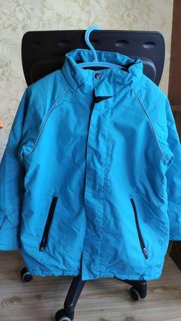 Куртка зимняя h&m 7-8 лет рост 128