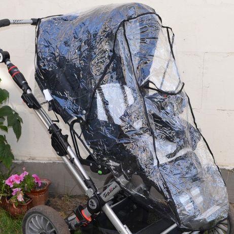Дождевик для коляски, универсальный