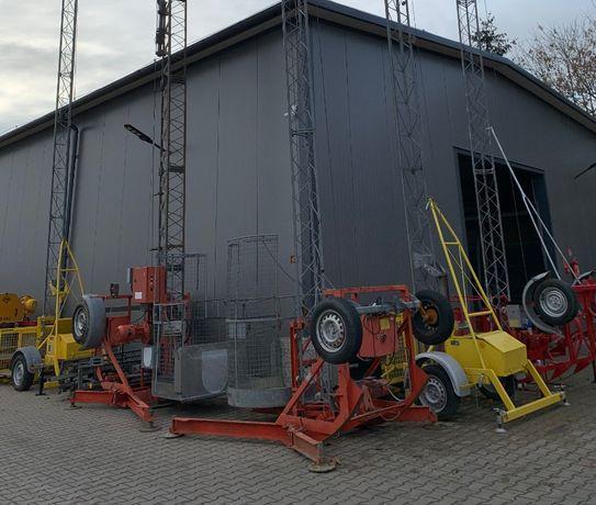 Windy budowlane Zeppenfeld Herzog podnośnik koszowy 200kg wciągarka