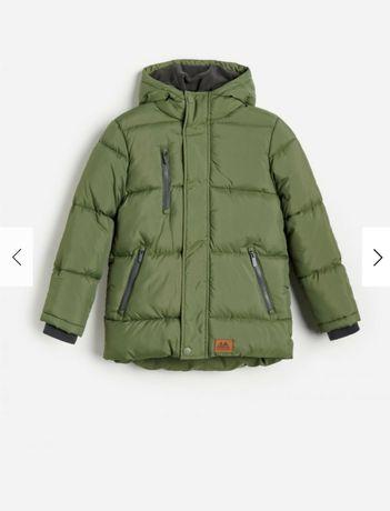 Демисезонная куртка (евро-зима) Reserved для мальчика 140 см (9-10 лет