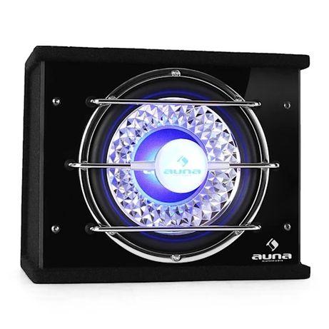 Subwoofer samochodowy 25cm 600W efekt świetlny LED Auna car audio