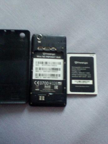 Прлдам телефон престіджіо  Wize N3 PSP3057 DUO