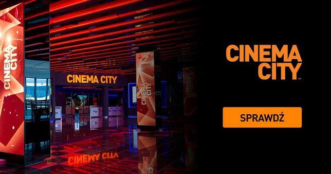 Bilety do kina Cinema City kod voucher 2D