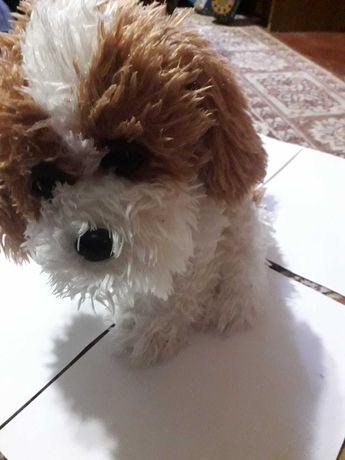 Плюшевая  игрушка  мягкая собачка