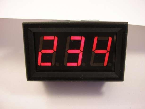 Вольтметр цифровой переменного напряжения, переменка AC 30-500V