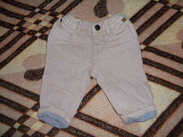 Теплые джинсы для маленького джельтемена