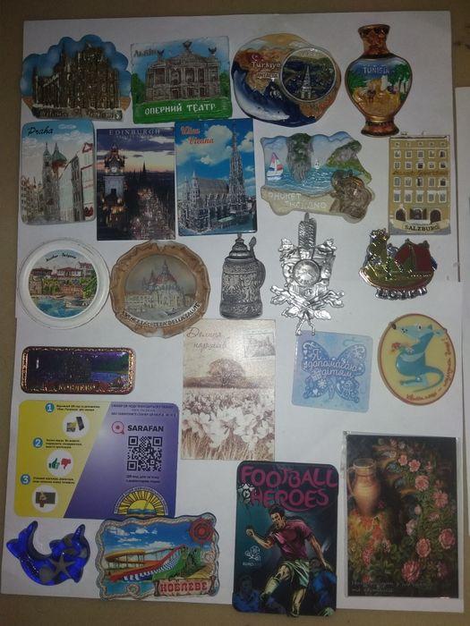Магниты на холодильник Житомир - изображение 1