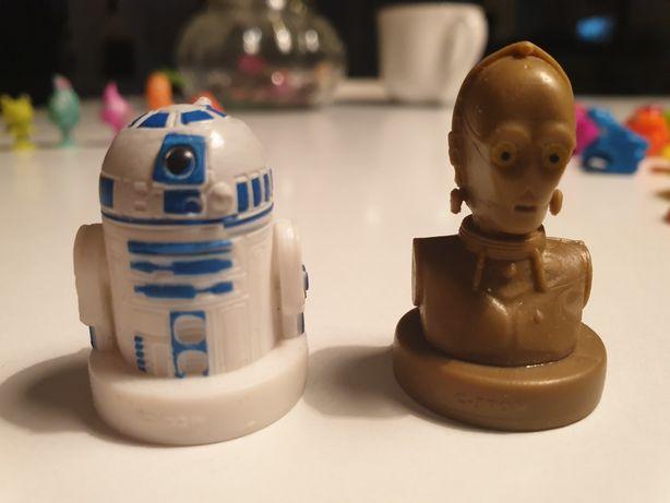 Star Wars , gwiezdne wojny , R2- D2 , C-3PO figurki, stempelki