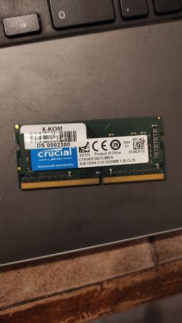 Pamięć ram 4gb ddr4 SODIMM pc4-2400 Crucial