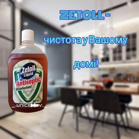 Средство для уборки в доме: концентрированный ЗЕТОЛ «Zetoll» 500 мл.