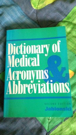Dictionary of Medical Acronyms Abbreviations
