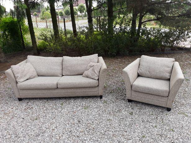 Sofa rozkładana z fotelem MTI Furninova Bari, transport