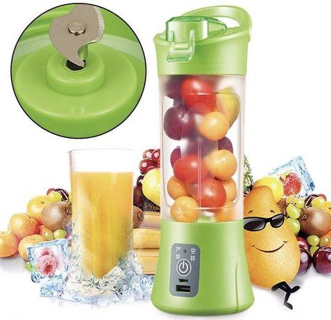 Фитнес блендер - шейкер Smart Juice Cup Fruits USB измельчитель 300 Вт