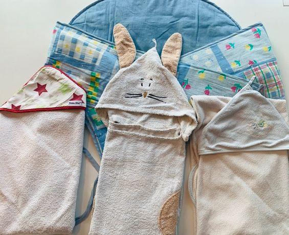 Ręcznik do kapieli niemowlaka.