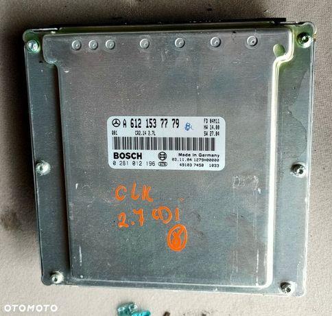 MERCEDES CLK W209 04r 2.7 CDI KOMPUTER A6121537779