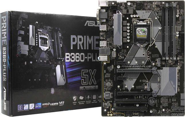 Материнська плата ASUS Prime B360 Plus