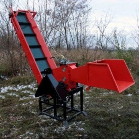 Дробилка веток, веткоизмельчитель (ввп трактора)
