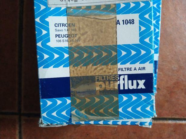 Filtro de ar Purflux Saxo cup/ 106 gti S16 e Fiat Punto TD