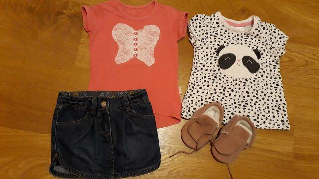 Ubranka dla dziewczynki 86
