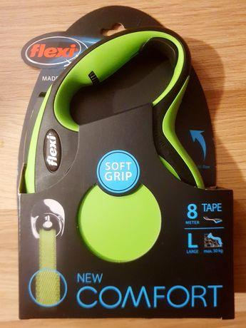 Sprzedam nową smycz automatyczną Flexi New Comfort rozmiar L 8 metrów