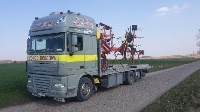 Usługi Trasportowe maszyn rolniczych