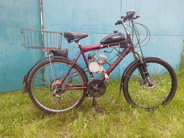 Продам велосипед с мотором