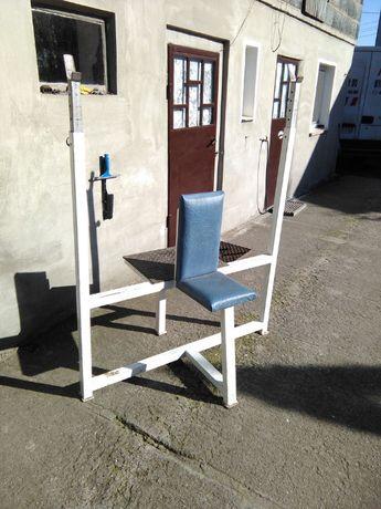 Ławka ławeczka na barki solidna profesjonalna stojaki regulowane