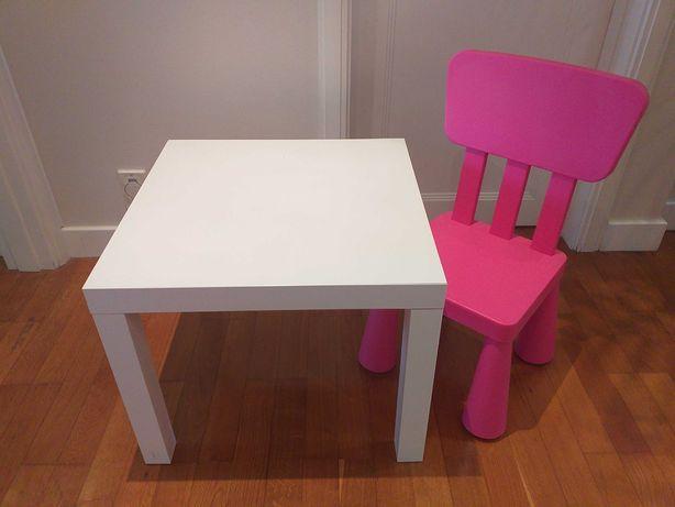 Mesa e cadeira criança IKEA