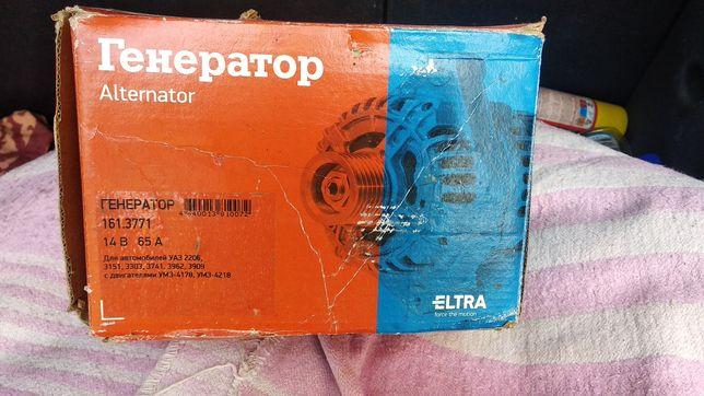 Генератор УАЗ 14В, 65А