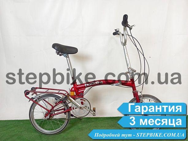 Велосипед Городской складной Алюминий Планетарка из Германии BuzBike
