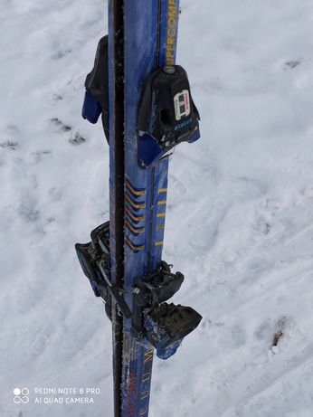 Narty FISCHER z wiązaniami ok 190 cm