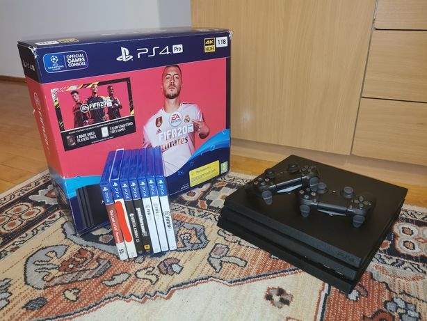 Sony PlayStation 4 pro CUH-7216B Super Cicha | 1 TB pamięci | OKAZJA!
