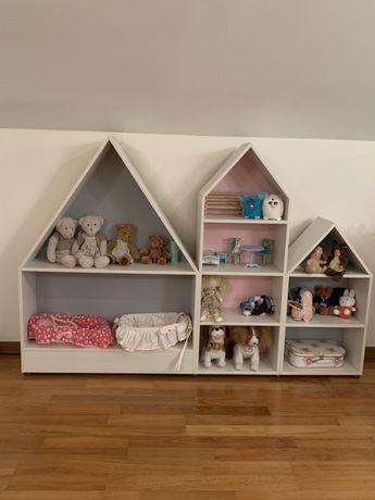 Продам три шкафа-полки для детской.