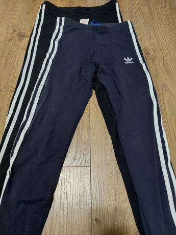 Spodnie adidas ciemne