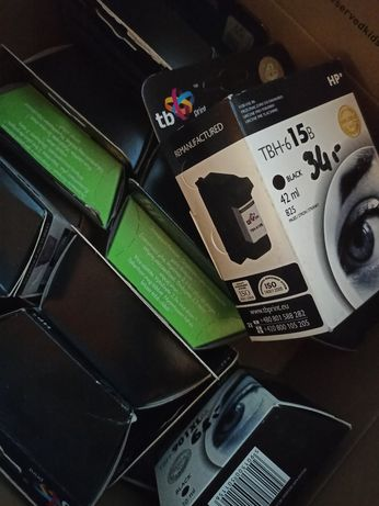 Tusz do drukarki WYPRZEDAŻ nowe HP Brother laserowej kaseta