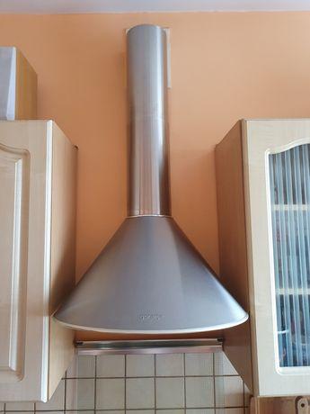 Okap kominowy kuchenny pochłaniacz wyciąg Gorenje stal nierdzewna inox