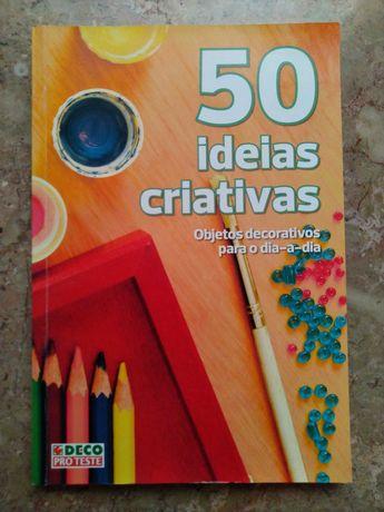 """""""50 Ideias Criativas"""", DECOPROTESTE"""