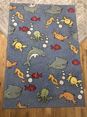 Dywan dziecięcy Ocean 120 cm x170 cm do pokoju dziecięcego