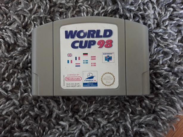 Gra World Cup 98 N64