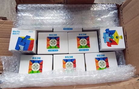 Кубик Рубика MoYu RS3M (НОВИНКА 2020 МАГНИТНЫЙ)