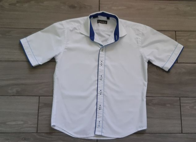 Белая рубашка Lagard на 7 - 9 лет