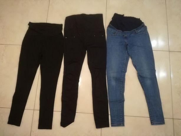 Paka spodnie ciążowe jeansy leginsy rozm S/M H&M