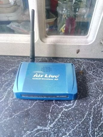 Access Point Air Live 802.11g Wireless AP
