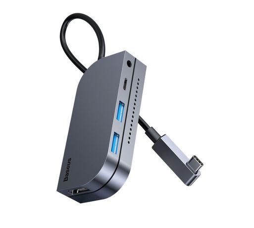 Baseus Adapter HUB 6w1 Type-C 2 x USB 3.0 HDMI iPad Pro MacBook