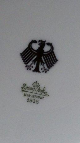 Большая тарелка Рейх 1935г фарфор