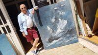 Pintura - Barco abstracto