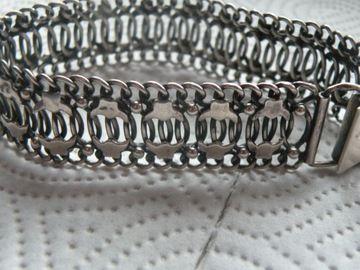 srebrna bransoletka proba 925 k282