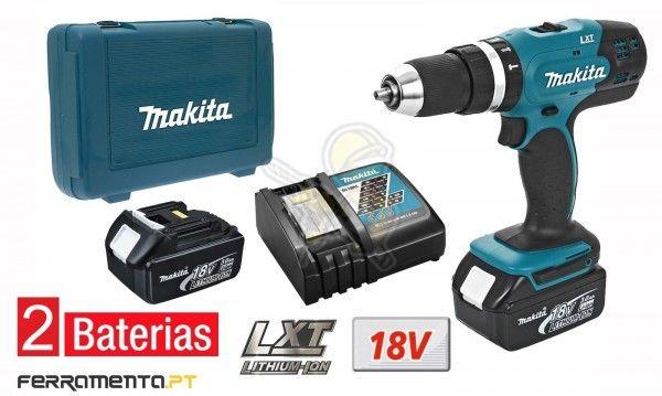 Berbequim Combinado 18V 3,0Ah Makita DHP453RFE
