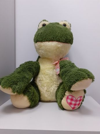 NOWA maskotka żaba