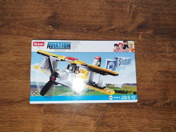 Klocki Aviation samolot 120 elem.